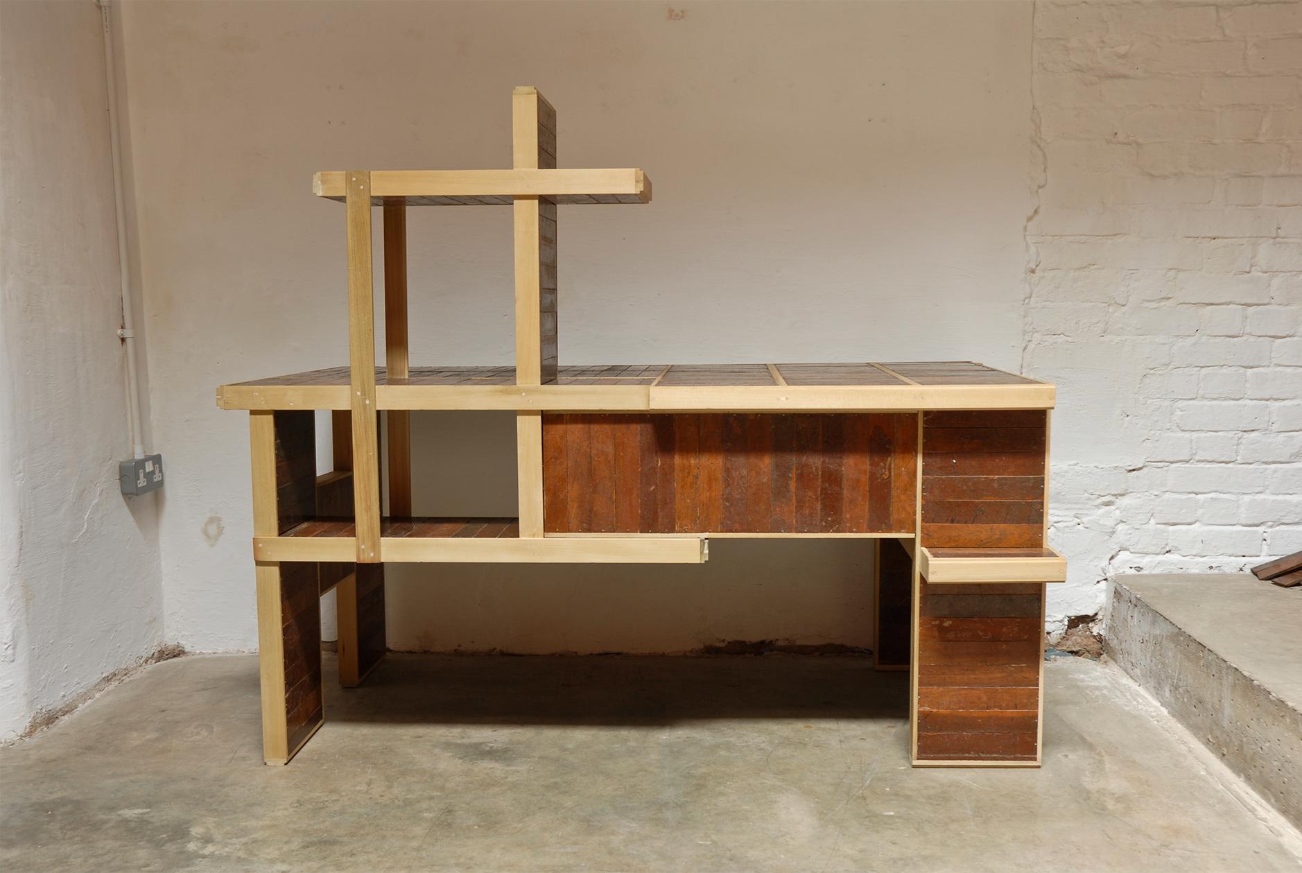 Meranti Desk 6